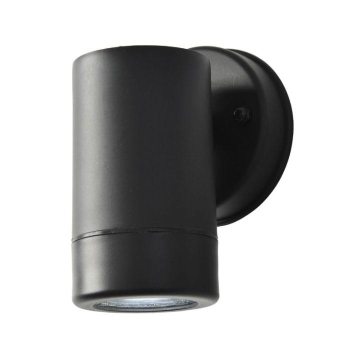Wl1bk Up Or Down Single Wall Spotlight Ip44 In Black