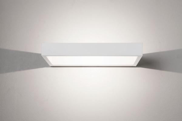 D-Light 3W LED Wall Light in White (driver included) Rectangular LED Light Frame AX0955
