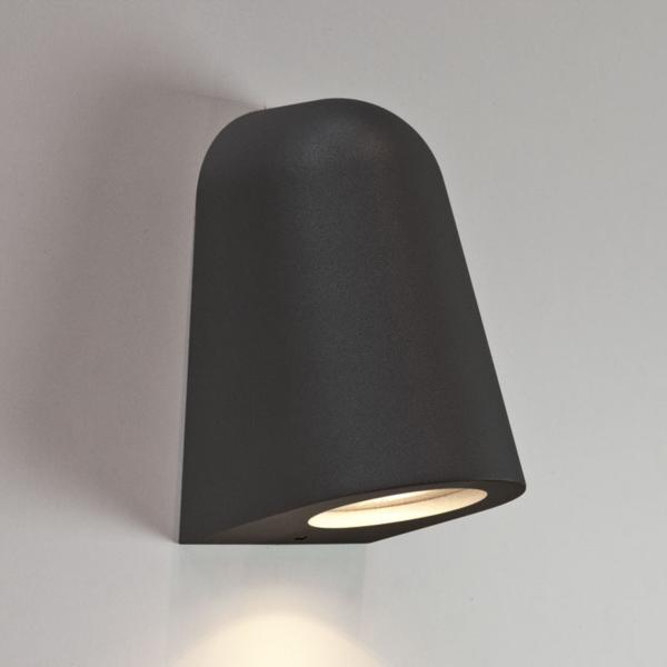 ip65 bathroom lights ax7178 mast black surf wall light ip65 35w gu10 13275
