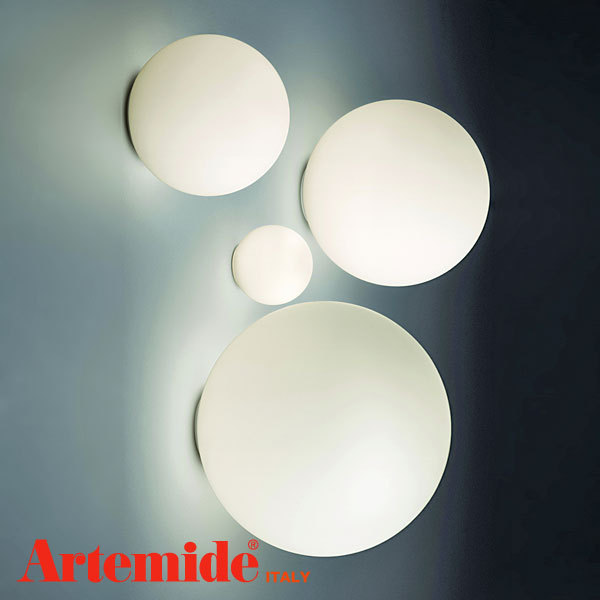 Ay257 Artemide Dioscuri 35 Wall Light Ip65 Rated White