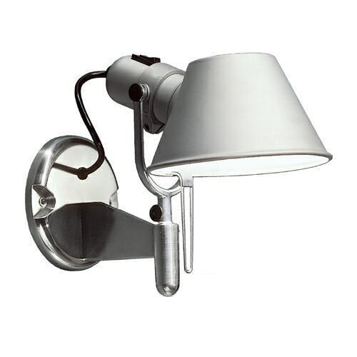 artemide tolomeo micro faretto wall light with fully. Black Bedroom Furniture Sets. Home Design Ideas