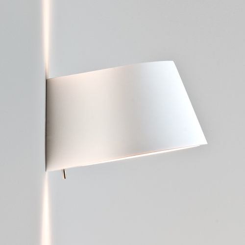 Koza Interior Cone Wall Light, Switched Paintable Plaster Wall Light 60W E14 AX0695 Astro ...