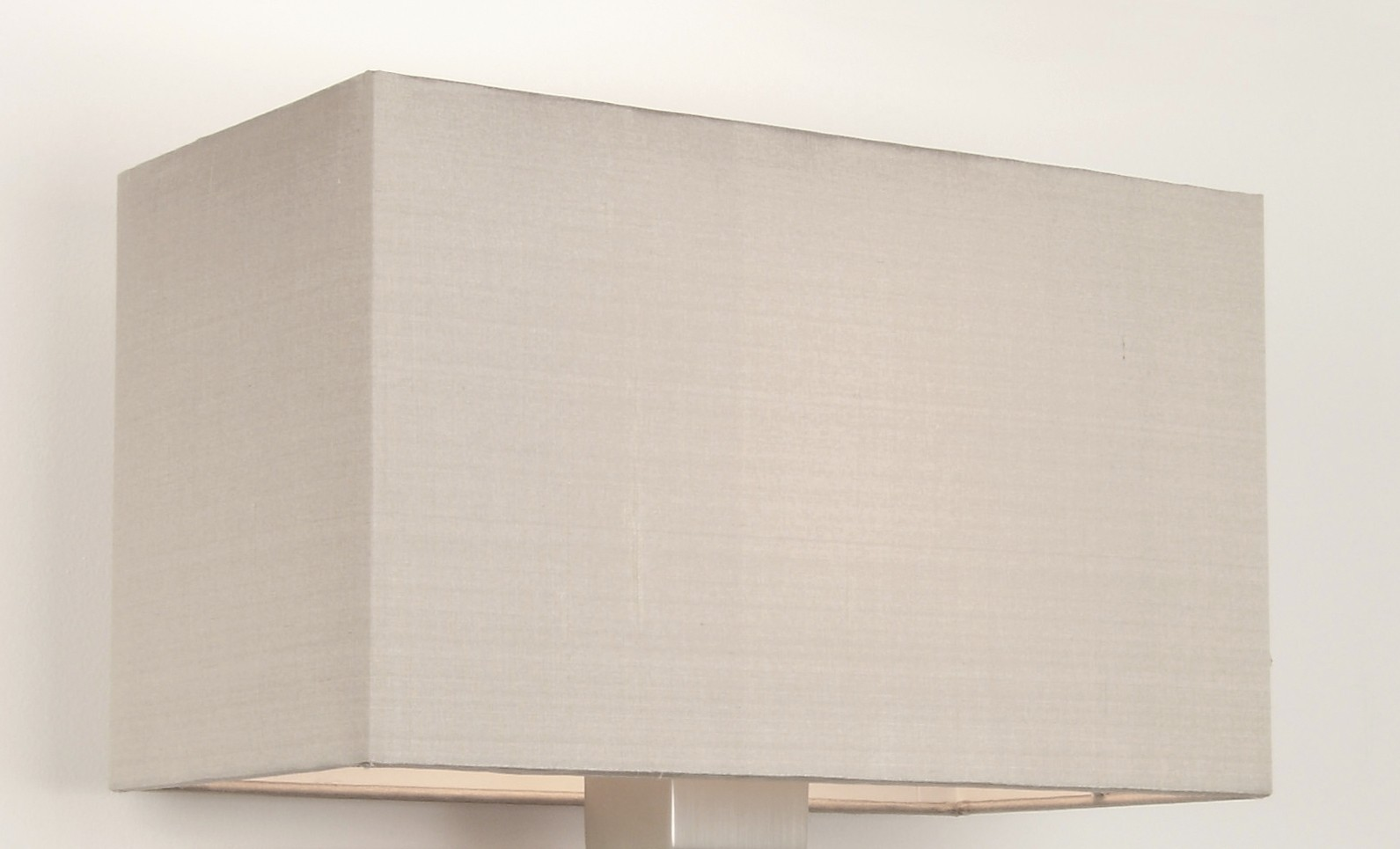 Rectangular Lamp Shades For Wall Lights : 4035 Oyster Rectangular Shade for Park Lane Grande Table or Wall Lamps AX4035