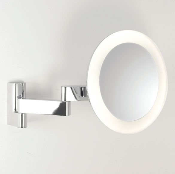 round bathroom mirror with lights ax0760 astro 0760 niimi led bathroom vanity mirror 24069
