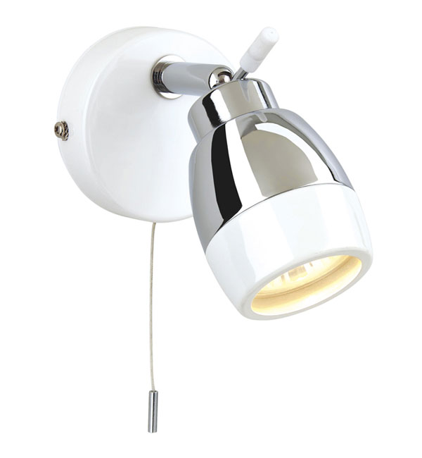 pull cords for bathroom lights 8201wh ip44 marine white with chrome bathroom wall 24020
