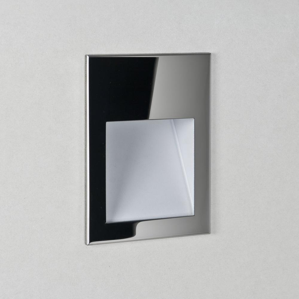 Ax7088 ip65 borgo 90 rectangular led recessed wall light for Recessed area