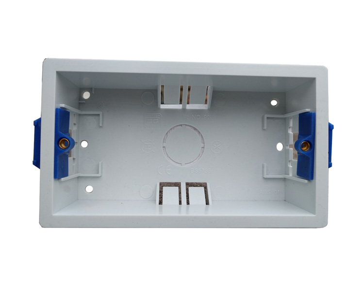 Dlt 2 Gang 35mm Deep Dry Lining Box Twin Patress 35mm