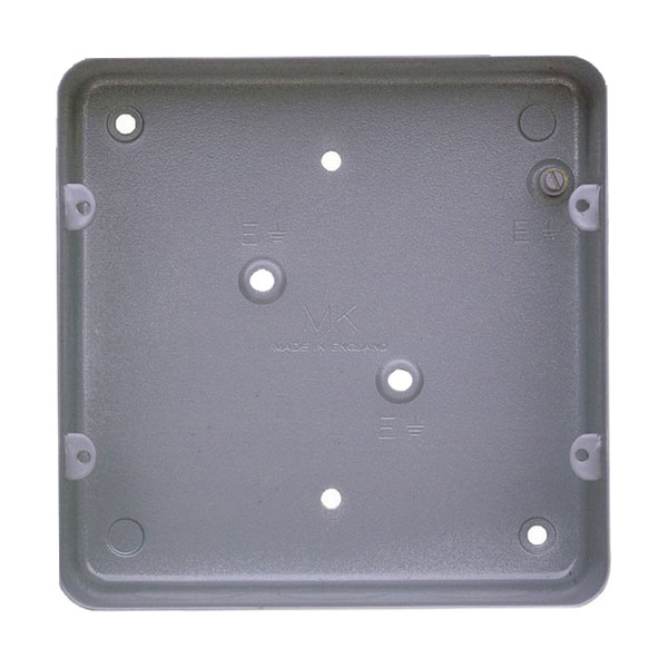 893alm Mk 893alm 6 Or 8 Gang Grid Flush Metal Box