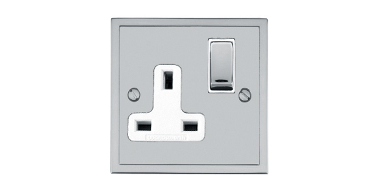 Metal Stepped Plate Switches and Sockets