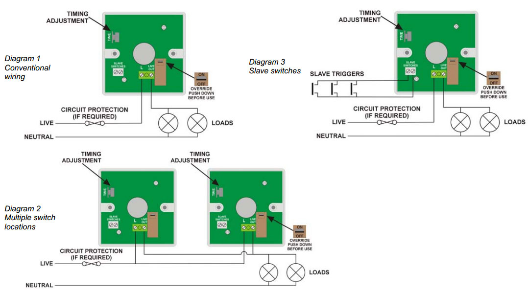 KH1%2010A%20Time%20Lag%20Push%20on%20Switch%20wiring1 Xpelair Extractor Fan Wiring Diagram on
