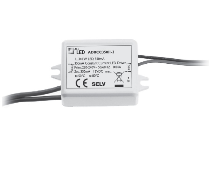 Led3l 1 3w 350ma Constant Current Led Driver For Series