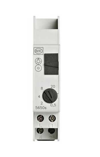 5650s Mk 5650s Din Rail 1 7 Min Adjustable Time Delay