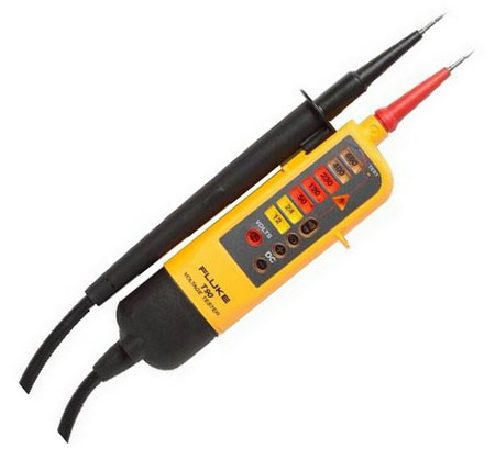 Fluke T90 Voltage And Continuity Tester 2 Pole High