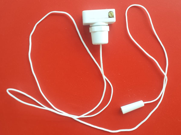 Pcs 2amp Mini Pull Cord Switch In White 2a Replacement