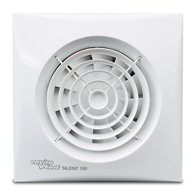 Sil10tlv Selv Silent 100mm Extractor Fan With Timer And