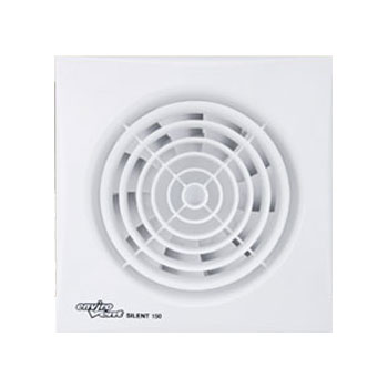 Sil150p 150mm Silent Extractor Fan With Pull Cord Switch