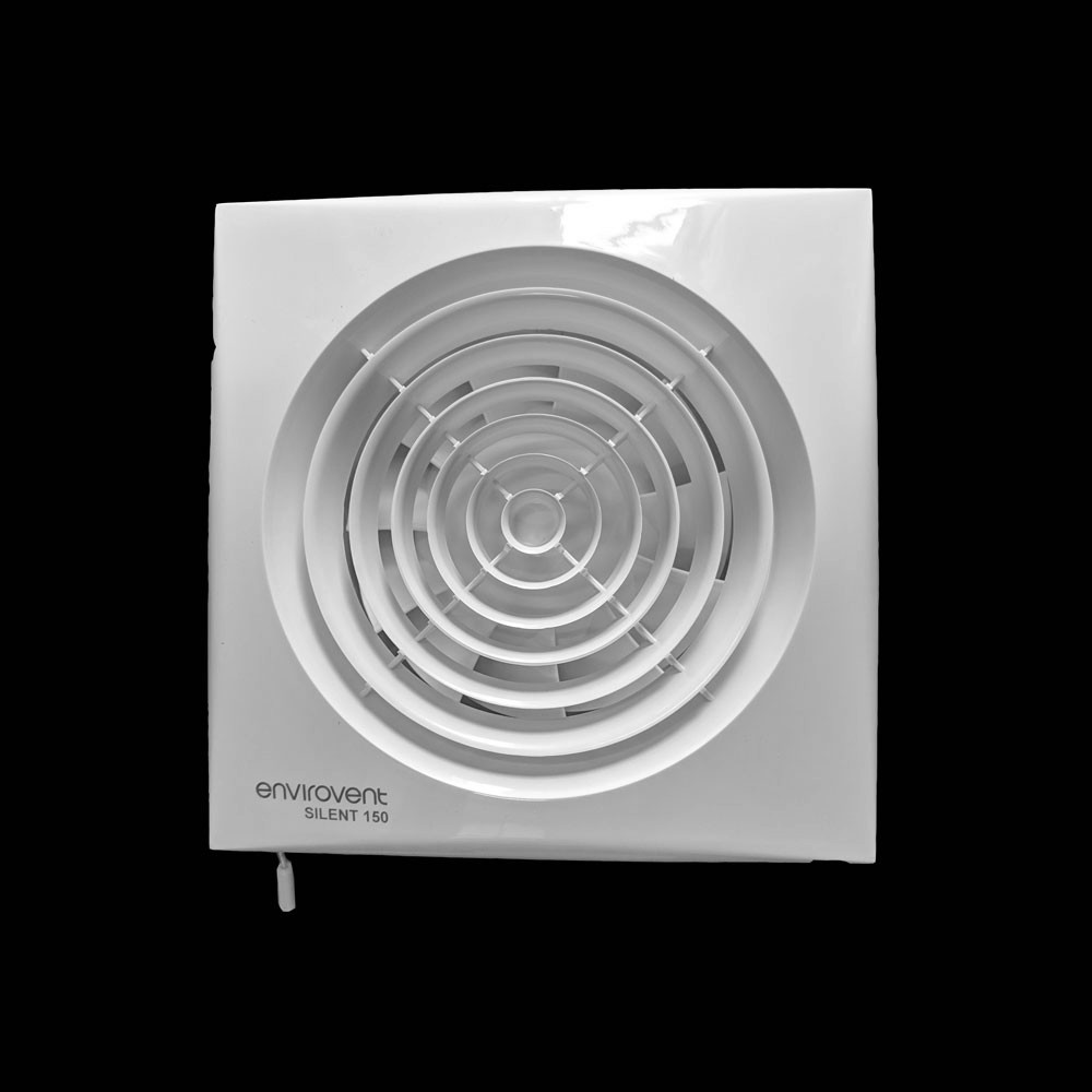 Sil150p 150mm Silent Extractor Fan With Pull Cord Switch Kitchen Axial Fan For Wall Ceiling