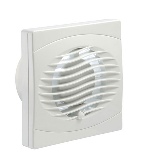Bvf100t manrose bathroom extractor fan 100mm with timer for 5 bathroom extractor fan
