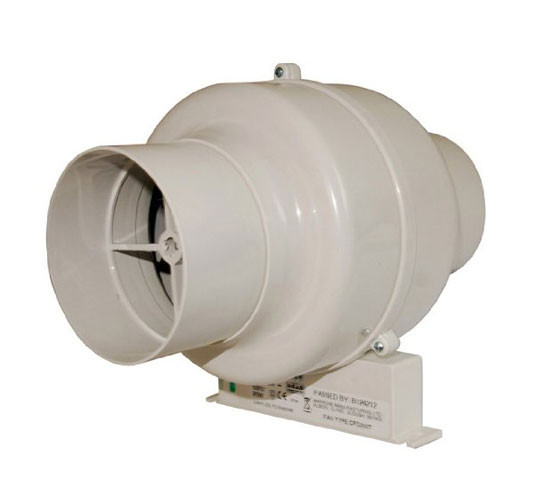 Cfd200s manrose cfd200s 100mm in line centrifugal fan with bracket 4 inch mixed flow fan for In line centrifugal bathroom fan