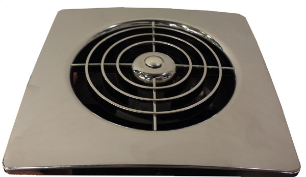 Lp100stc Manrose 100mm Chrome Slim Extractor Fan With