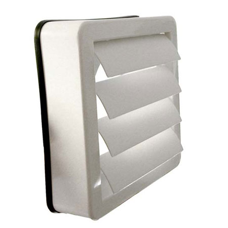Wk6man Manrose 150mm 6 Inch Window Vent Kit With External Backdraught Shutters For Xf150