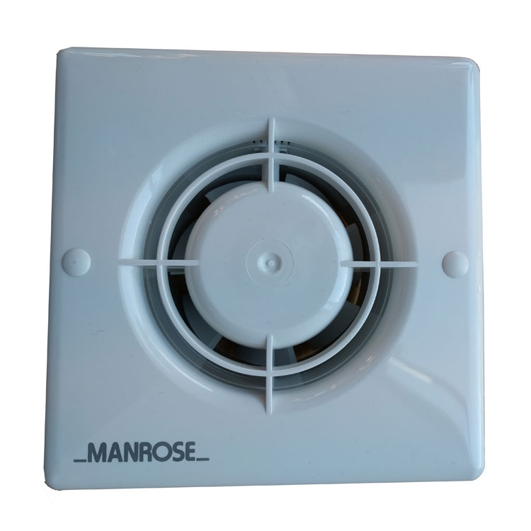 Xf100h Manrose Xf100h 100mm Bathroom Fan With Humidity