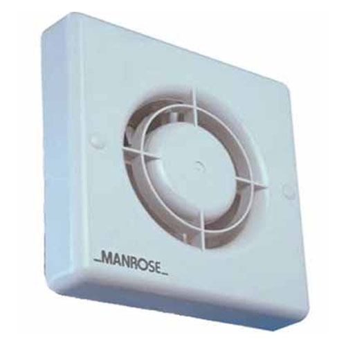 Manrose Xf100t 100mm Extractor Fan With Adjustable