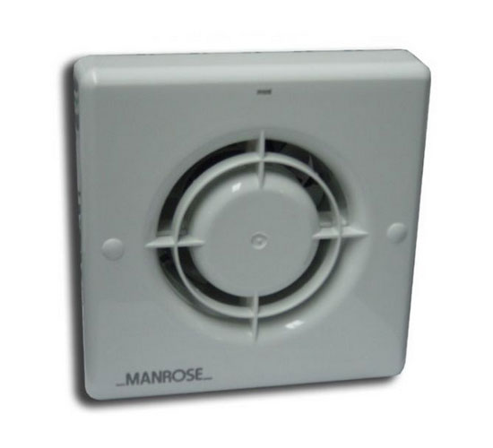 Wiring Diagram Manrose Extractor Fans : Manrose xf t mm extractor fan with adjustable