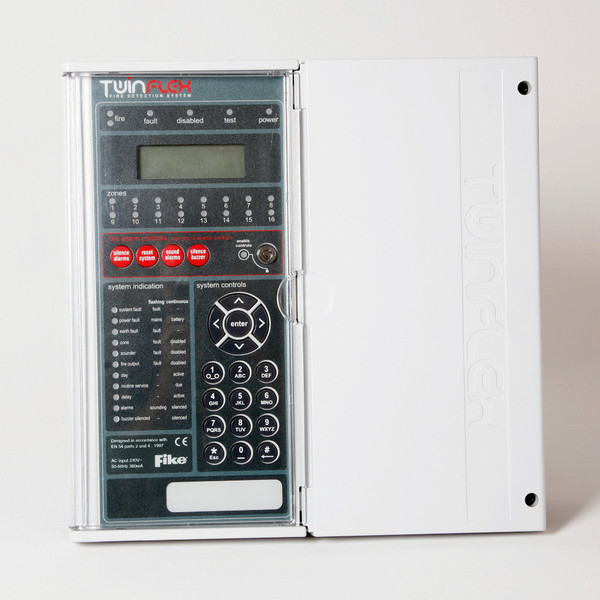 5050008 Fike Twinflex Pro 8 Zone Fire Alarm Control Panel For Conventional 2 Wire Fire Alarm System