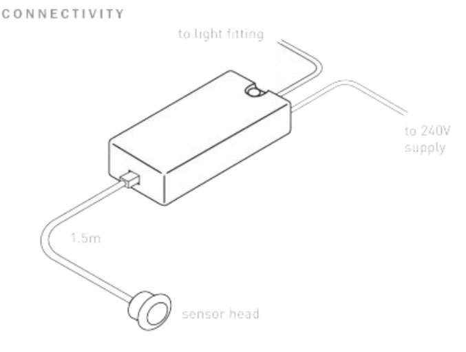 Pir Motion Sensor Occupancy Switch Ledningsdiagram