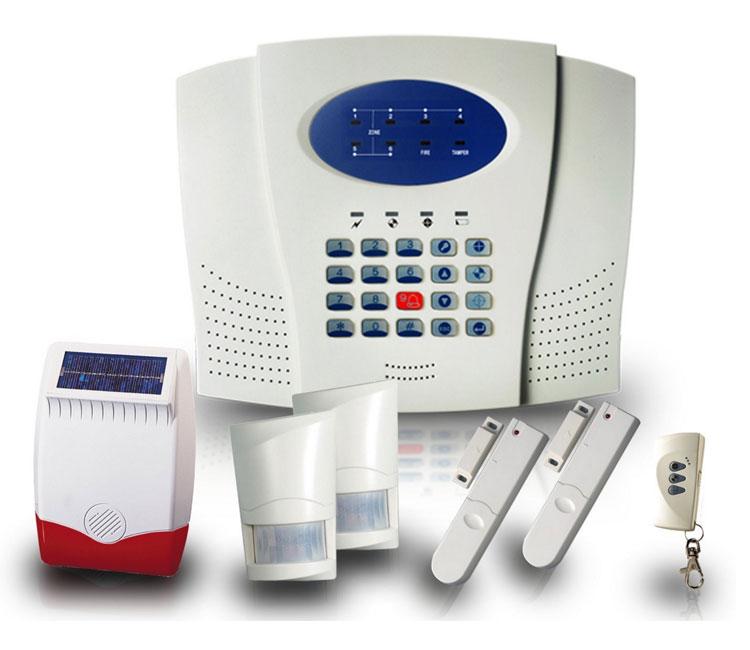 Lhk101sk 6 Zone Luxhome Wireless Alarm Kit With 2 Pirs