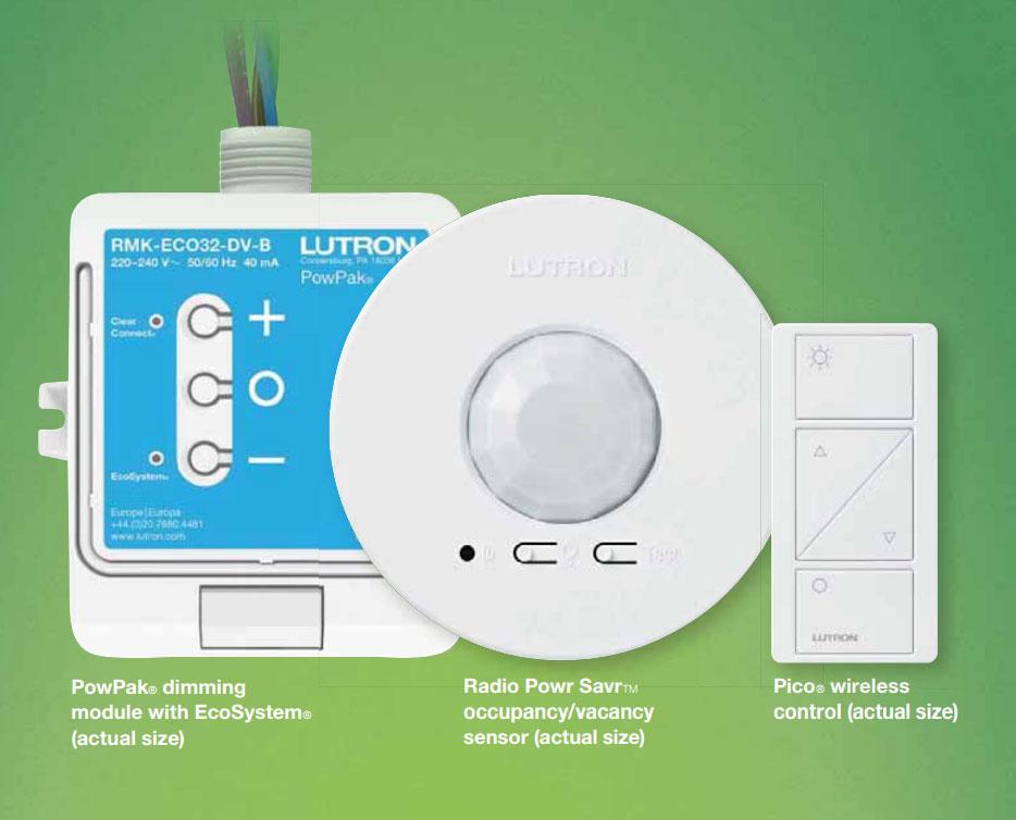 Introducing the Lutron Energi TriPak Wireless energy saving system