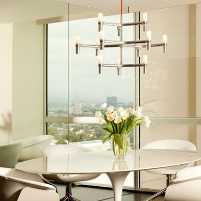 Nemo crown minor pendant 12 light ceiling suspension lamp for Cassina lighting