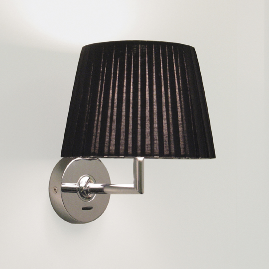 New Wall Lamp with Black Shade, the Appa AX0501 Wall Sconce in