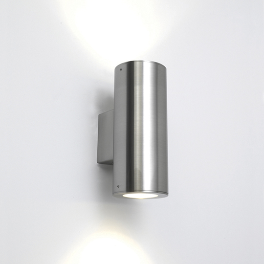 AX0381 - IP44 Detroit Outdoor Wall Light in Stainless Steel for Up-and-Down Lighting