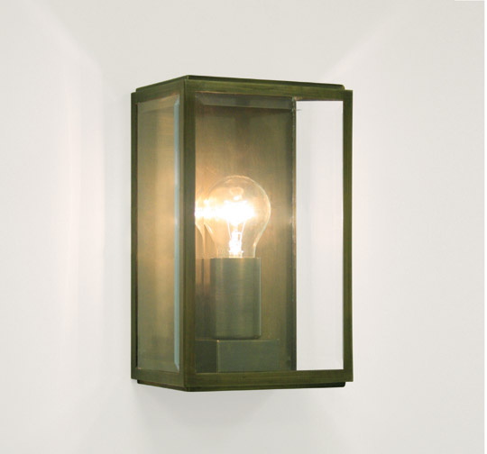 AX0562 Astro Homefield 0562 Bronze Outdoor Wall Light With Clear Glass IP4