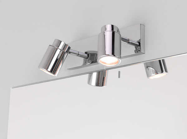 Ax6121 Como Bar Two Light Surface Spotlight Double Wall