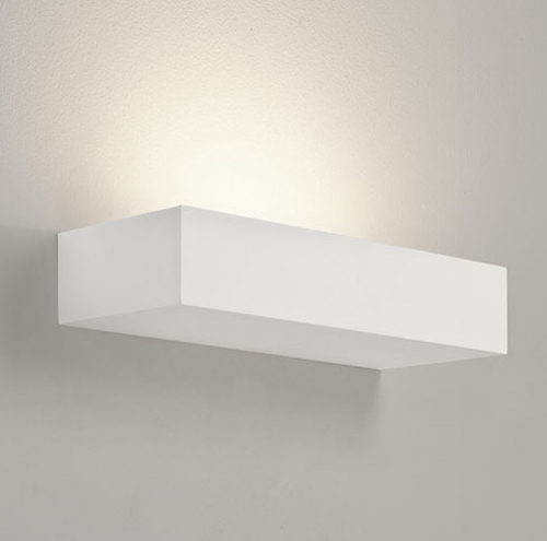 Parma 200 Plaster Uplight, Astro Lighting 7038 Parma Plaster Wall Lamp 60W E14 AX7038 Astro ...