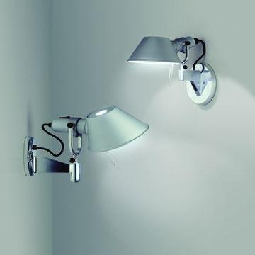 Ay471 Artemide Tolomeo Micro Faretto Wall Light With