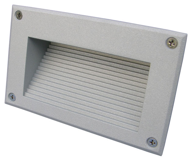 Brick LED Downunder Outdoor Recessed Wall Light by SLV Lighting - Wall lights, LED bathroom ...