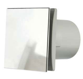 Dec150sc Manrose Rtdeco 150mm 6 Quot Chrome Extractor Fan