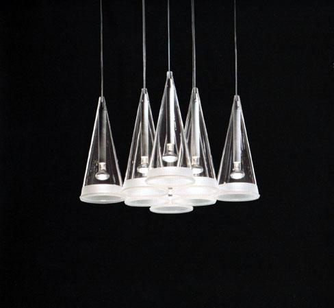 Lampe over spisebordet