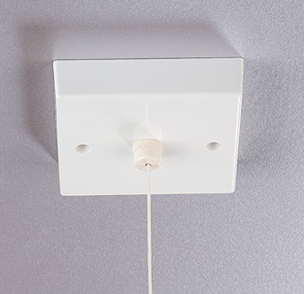 Fitting Bathroom Light Pull Cord Switch - Rukinet.com:MRT16PC Pull Cord Time Delay Switch For Light Or Heat, 1 Sec .,Lighting