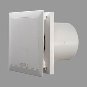 Airflow Quietair 5 Inch Extractor Fan With Adjustable Timer Quiet Ventilation Airflow 9041498