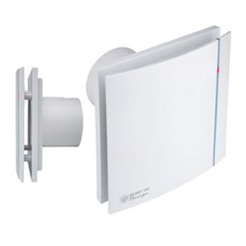 Silent 100 design ultra quiet bathroom fan with humidistat Ultra quiet bathroom exhaust fan with light