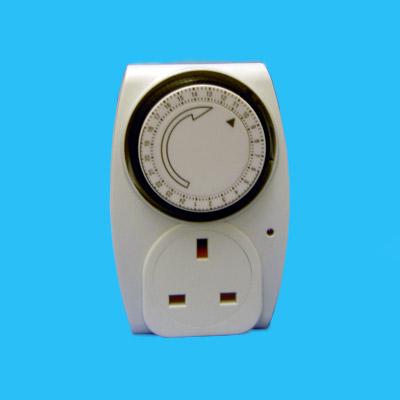 tp24 24 hour plug in mechanical timer. Black Bedroom Furniture Sets. Home Design Ideas