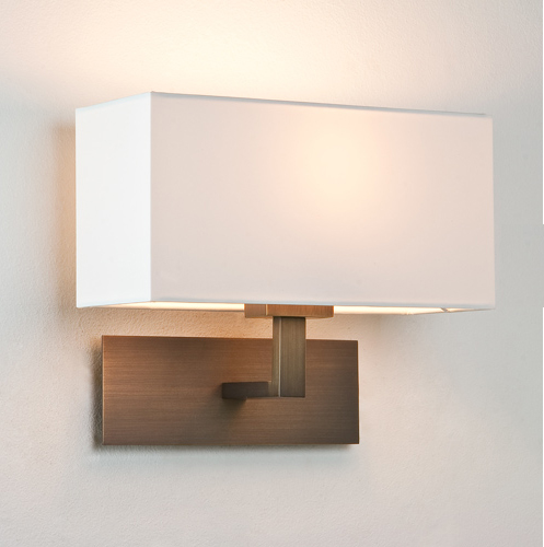 ax0424 park lane 0424 bronze wall light with white