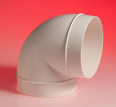 Elbow4 4 Inch Pvc Pipe 90 Deg Bend 100mm Ducting Elbow