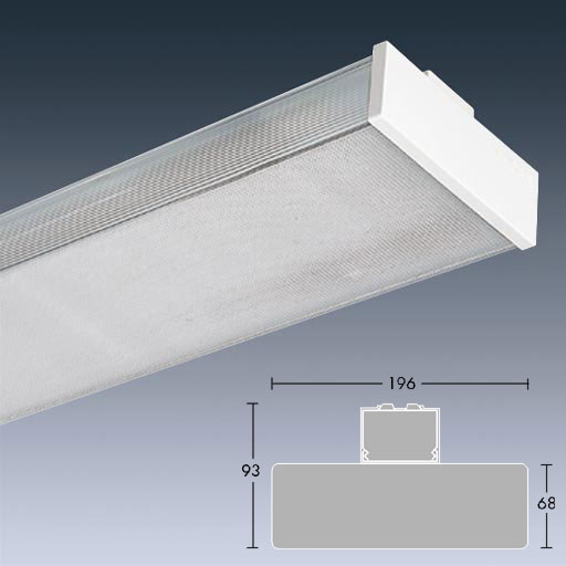 Light Diffuser: Light Diffuser For Fluorescent Lights